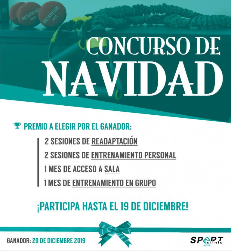 Concurso de Navidad Altea Sport Clinic